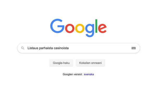 Google haku